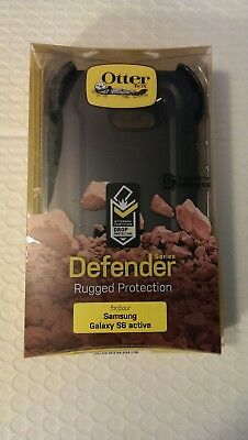 NEW OtterBox Defender Case + Holster for Samsung Galaxy S6 Active - black