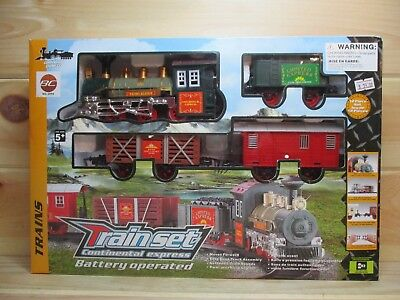 Train Set Indoor/Outdoor 12pc. Battery Operated - Batteries Included