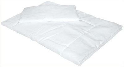 Soft Anti Allergy Duvet Quilt 135X100 With Pillow For Nursery Baby Cot Bed