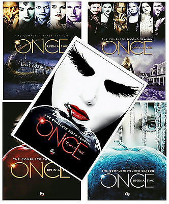 Once Upon A Time: The Complete Series Seasons 1-5 (DVD 25-Disc Box Set) New