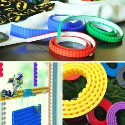 Lego Compatible Block Tape 1M & 2M Sticky Toy Block Adhesive Flexible Building