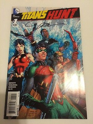 SDCC 2017 Comic Con SIGNED Jim Lee Titans Hunt Batman DC Comics VARIANT 1:25 #1
