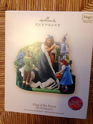 Hallmark New In Box King Of The Forest Wizard Of Oz