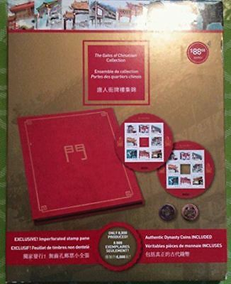 2013 Gates Of Chinatown Collection Stamps & Dynasty Coins