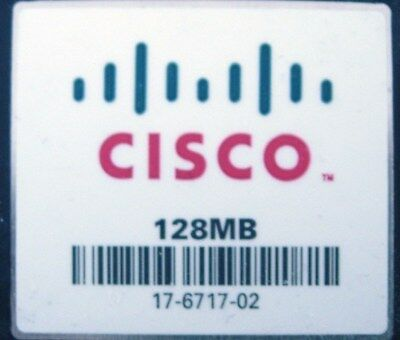 Cisco 128MB Flash or Cisco 128MB Compact Flash CF Card CCNA CCNP CCIE