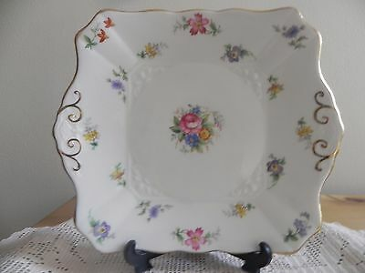 Tuscan Bouquet Cake Plate C7200