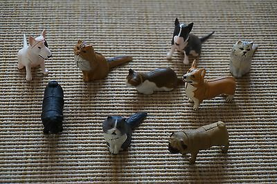 Lot of Nine 9 New JAPAN KAIYODO FURUTA Choco Egg Animal Pet Miniatures Series 2