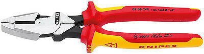 Knipex 09 08 240 SBA 1000V Insulated Lineman's Pliers