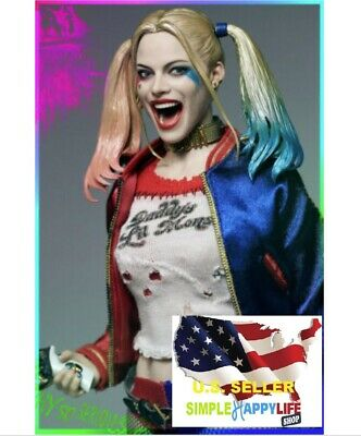 1/6 Harley Quinn head Suicide Squad clothing set hammer Phicen verycool ❶USA❶