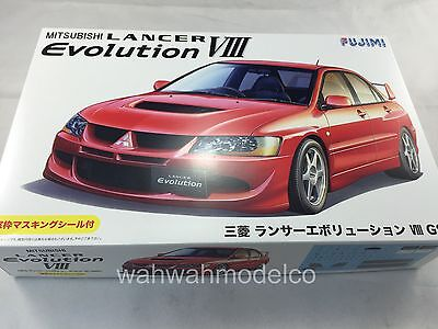 FUJIMI Mitsubishi Lancer VIII Evolution GSR 1/24 Inch Up Series id-180 JAPAN