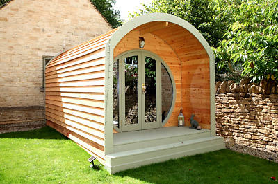 Pod, Camping Pod, Office, Shepherds hut, Amazing spaces, Log Cabin