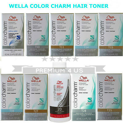 Wella Color Charm Permanent Liquid Hair Toner,Bowl #Select your Items.#UK SELLER