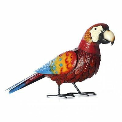 Polly the Parrot Metal Garden Ornament Jungle Theme Handmade Ideal Gift