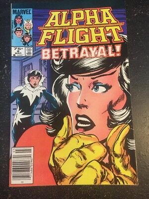 """Alpha Flight#8 Incredible Condition 9.2(1984) Byrne Art!!""""Betrayed """""""