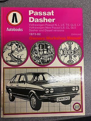 Autobooks Volkswagen Passat Dasher  Owners Manual 1973-1982
