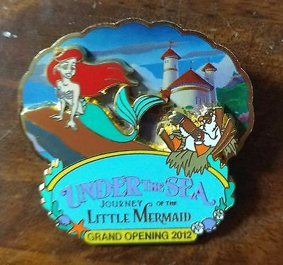 Ariel Under the Sea Journey of the Little Mermaid Grand Opening LE Disney Pin
