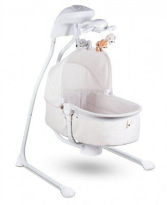 Interactive Swing Chair Lionelo Henny incl. Mosquito 10 tunes + USB port