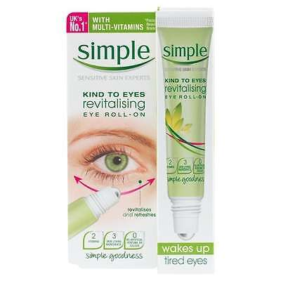 Simple Kind To Eyes Revitalising Eye Roll On 15ml