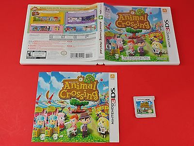 Animal Crossing New Leaf [CIB Complete in Box] (Nintendo 3DS) Tested & Working
