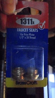 "Faucets Seats for Price Pfister Faucets 1/2"" x 20 Thread BrassCraft SC1311x"