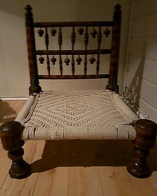 Antique Indian/Tibet Prayer Pida Chair