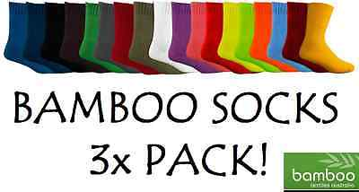 3x BAMBOO TEXTILES EXTRA THICK 92% BAMBOO WORK SOCKS ALL SIZES ONLY $12.60/ PAIR