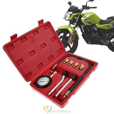 Automotive Petrol Engine Compression Tester Kit Valve Timing Gauge Pro Cyli Uk