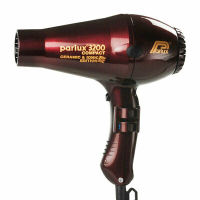 Parlux 3200 Ionic & Ceramic Edition Compact Hair Dryer – Chocolate Cherry Sal...