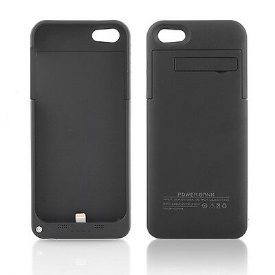 3 Colors 2200mAh External Backup Battery Charger Case for iPhone 5 5S