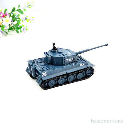 Mini 1:72 Remote Control RC German Military Tiger Tank Stimulate with Sound Toys