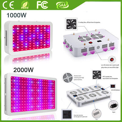 1000W 1200W LED Grow Light Full Spectrum lamp for Veg Flower Indoor Plant Hydro