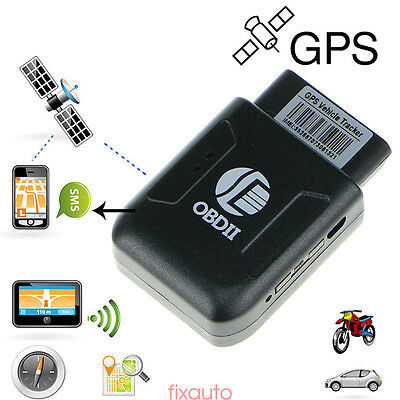 OBD II Car Vehicle GPS Realtime Tracker PVC OBD2 Tracking Device GSM GPRS fo12