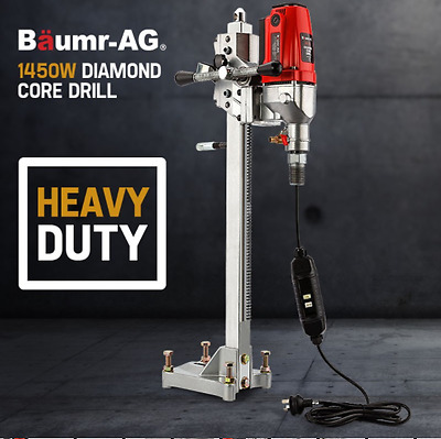 1450W Electric Diamond Core Drill Diamond Concrete Core Drill Press Drilling