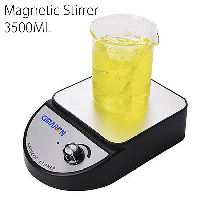 3500ml AC100-240V Laboratory Tool Magnetic Stirrer Mixer Home 3500rpm CIMARON