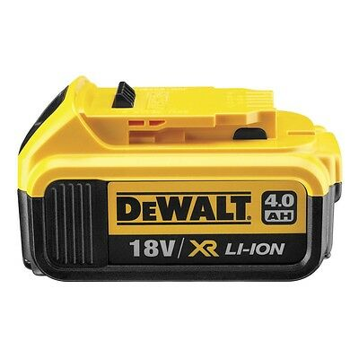Genuine Dewalt DCB182 18v 4.0Ah XR Li-Ion 4ah Lithium Slide Battery