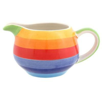 Rainbow Collection Milk Jug Made From Ceramic 8Cm Tall By 15Cm Wide Rc_65635*