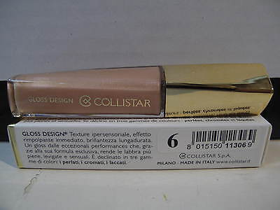 "Collistar Gloss Design ""volume Immediato"" Brillantezza Lungadurata N° 6."