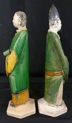 Chinese Sancai Ming Dynasty Terracotta Figures