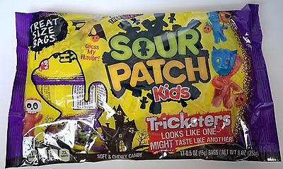NEW 2017 Halloween Sour Patch Kids TRICKSTERS Soft/Chewy Candy FREE WORLD SHIPPI
