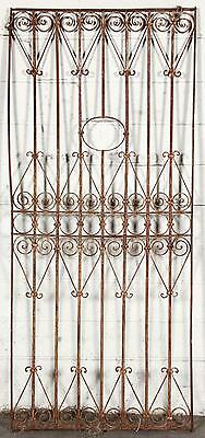 Architectural Wrought Iron Panel