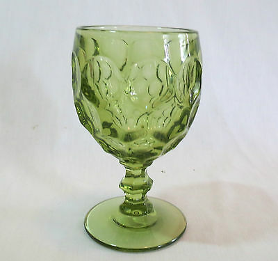 Imperial Provincial Verde Green #1506 Water Goblet(s)