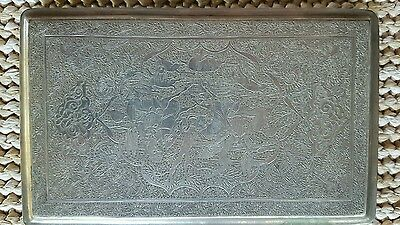 Antique Old Ottoman Turkish Silver Cigarette Case