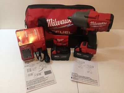 "Milwaukee 2767-22 M18 FUEL™ High Torque GEN II 1/2"" Impact Kit -1400 FT/LBS"