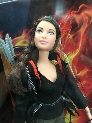 Katniss from The Hunger Games Barbie Collector Black Label by  Mattel (!CL204P)
