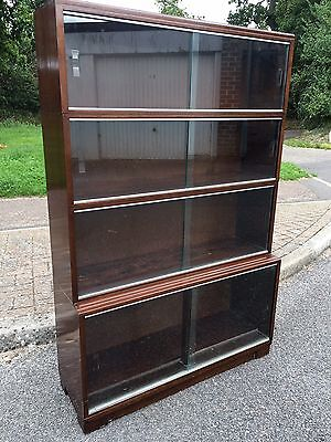 Vintage Retro Minty Library Stacking Bookcase