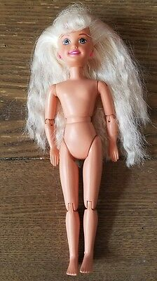 Nude Mattel Blonde Stacie Barbie Doll BICYCLIN Jointed Articulated