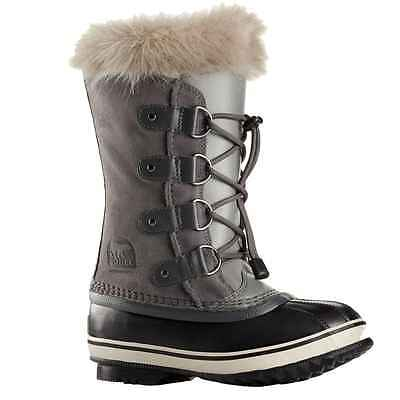 Sorel Girls Youth Joan of Arctic waterproof insulated winter snow boots 1 2 3