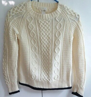 Crewcuts youth Cable cotton Sweater Size 12