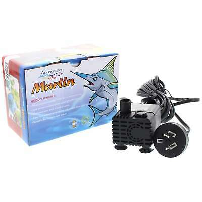 Pond Pump Marlin 300 5W 300 L/h Max Head 0.65m 3m Cable Fountain Water Feature