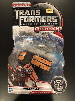Transformers Dark of the moon DOTM deluxe mudflap mosc Lot